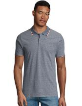 Men`s Heather Polo Shirt Paname