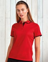Ladies` Contrast Coolchecker® Polo