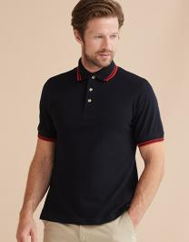 Double Tipped Piqué Polo Shirt